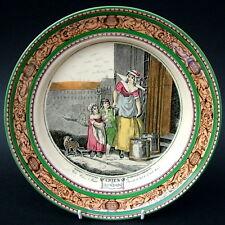Vintage Adams Cries of London Lg Size Dinner Plate 25cm Milk Below Looks in VGC