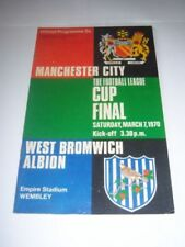 Away Teams S-Z West Bromwich Albion League Cup Football Programmes