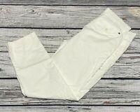 NWT Tommy Hilfiger TH Flex Stretch Custom Fit Chino Pants White Mens 34 x 30