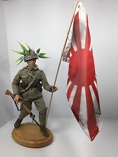 1/6 BBI IMPERIAL JAPANESE NAVY MARINE+BATTLE FLAG+ARISAKA+STAND DRAGON DID WW2