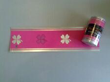1,59€/m Tapete 3556-01 Borte Bordüren Barock Biedermeier Landhaus Pink Modern 5m