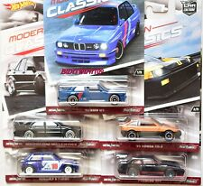 HOT WHEELS 2017 CAR CULTURE MODERN CLASSICS SET OF 5 HONDA PORSCHE MERCEDES