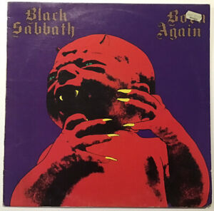 Black Sabbath Vinyl Born Again 1983