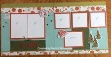 "Nancy's Heart to Heart, Two-Page Layout ""Be Merry"" Christmas Kit"