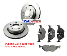 FOR BMW 3 Series E46 (99-05) 316, 318, 316,i 318i Rear Brake Discs & Pads