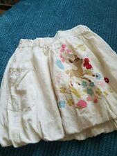 creamy white corduroy winter spring skirt from h&m