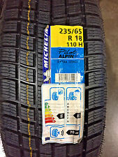 4 New 235 65 18 Michelin Pilot Alpin Snow Tires