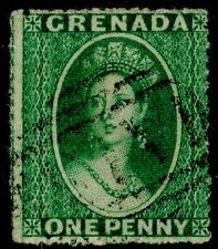 Sg4, 1d green, FINE used. Cat £16.