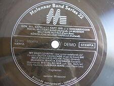 Disque souple Molenaar band series 22 My Dear country      Militaire