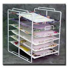 New Retail 6-tier 6 Slot Scrapbook Paper Rack Display 10