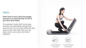 WalkingPad A1 Pro Folding Smart Treadmill Slim Fitness Running Machine Genuine