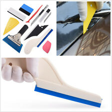 10 Pcs Car Window Tint Body Wrapping Foil Film Vinyl Sticker Squeegee Tools Kit