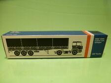 LION CAR 70 DAF TRUCKS 2800-3300 TRAILER - 1:50 GOOD * ONLY EMPTY BOX * (30)