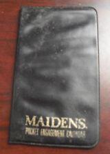 Vintage 1967 Maiden's Pocket Engagement Calendar Booklet
