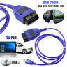 Câble USB KKL VAG-com 409,1 OBD2 II OBD diagnostic scanner pour le siège