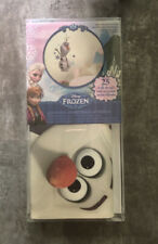 Disney Frozen Olaf The Snow Man Peel Stick Wall Decor Decal Removable Reusable