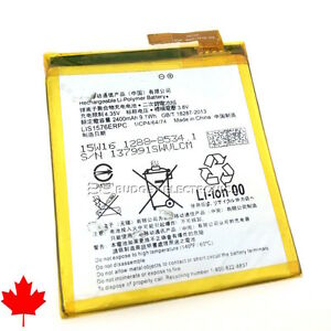 NEW Sony Xperia M4 Aqua Replacement Battery LIS1576ERPC 2400mAh