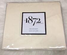 "1872 Bloomingdale's Ivory Panthera Bedskirt, King 18"" Drop 100% Cotton"