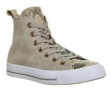 ✨NEW✨ Converse Lined Loop Suede Ivory Snake High Top sneakers Sz 8