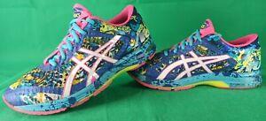 Asics Gel Noosa UK 6.5 EU 39.5 Blue/White/Pink TRI 11 Sneakers Running Shoes (C)