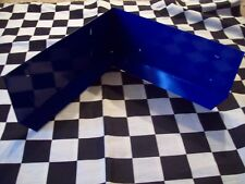 COBALT BLUE GALVANIZED STEEL RABBIT CAGE CORNER GUARD PARTS urine dirt deflector