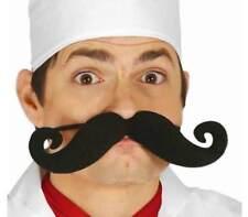 Chefs Large Tash Moustache Fancy Dress Chef Cook French Celebrity Masterchef