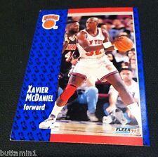 XAVIER MCDANIEL 1991-92 Fleer TEST Pre-Production SAMPLE Card SSP #328 RARE