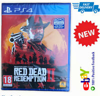 Red Dead Redemption 2 PS4 In Stock Now fast post so y play station 4