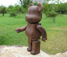 Custom 100%(7cm) Black Walnut Wood Bearbrick Be@rbrick High Quality.