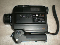 Vintage Minolta XL-Sound 42 Super 8 Camera ASIS UNTESTED MISSING BATTERY COVER