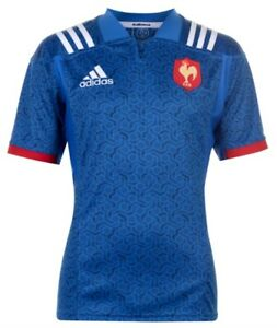 Adidas Ffr Home Jsy France Rugby Home Jersey Blue SIZE S, M, XL, XXL New