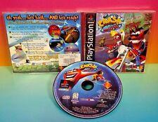 Crash Bandicoot 3 : Warped - Playstation 1 2 PS1 PS2 Rare Game Complete Black