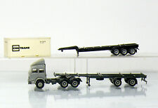 Herpa Iveco Container Semitrailer, Trailer And 1 Contrans Container