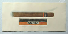 Charles Leonard-ORIG. colorierte aguafuerte-cohiba-cigarro - 269/400 - firmado