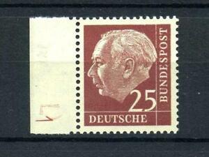 BRD 186 y W DZ, FluoreszenzvDruckerzeichen 1 tadellos postfrisch MI: 300.- #e131
