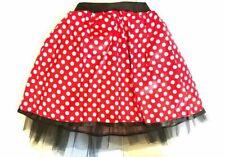 HALLOWEEN RED BOW MOUSE TUTU COSTUME Kids Teens Fancy Dress  Accessory Set UK