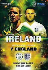REPUBLIC OF IRELAND v England (Friendly Match) 2015