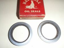 2 Front Wheel Oil Grease Seals 1955 Chevrolet Wagon & Sedan Delivery 55 CHEVY