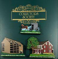 Shelia's Set of 3 Mini-Replica Amish Pieces 1999 ~ 2000 Daisy Connection