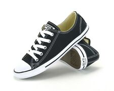 CONVERSE ALL STAR CT DAINTY OX -530054C -WOMENS SNEAKERS -BLACK WHITE - dd1645ebd