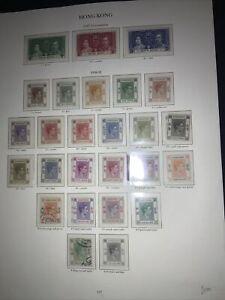 Hong Kong Stamps, Mainly MLH. Huge Catalogue Value