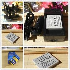 Battery+Charger for PENTAX D-BC8 D-LI8 D-Li85 Optio S5z S6 S7 SV SVi T10