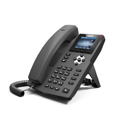 2 Lines Color VoIP SIP Phone 1000 Mbps POE 2 year warranty