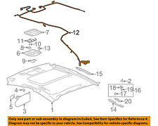 Pontiac GM OEM 04-08 Grand Prix Interior-Roof-Harness 10340112