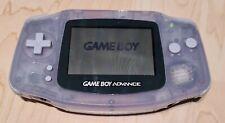 Nintendo Game Boy Advance transparent mit 1 spiel  Handheld-Spiel-Konsole