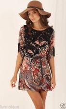 Boho Polyester Shirt Dresses for Women