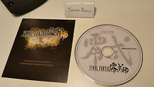 Final Fantasy Type-0 0 HD Collectors Edition exclusive Composer Soundtrack