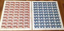 Norway Full Sheet 1961 Roald Amundsen - Complete Series - MNH