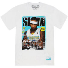 Mitchell & Ness Denver Nuggets Carmelo Anthony Slam Cover Short Sleeve T-Shirt