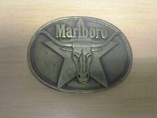 Marlboro Cigarettes solid Brass Belt Buckle